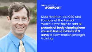 The Perfect Workout slow-motion strength training