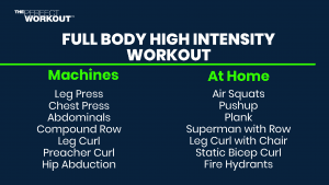 Fully body high intensity workout