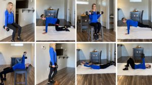At home Slow motion high intensity strength training