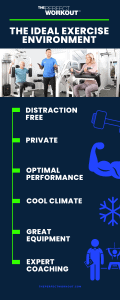 THE IDEAL EXERCISE ENVIRONMENT